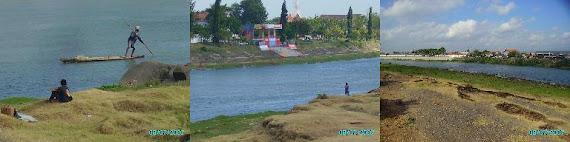 sungai di tengah kotaku.......brantas....