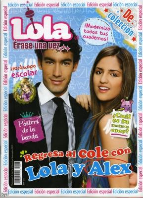 La revista de Lola y Alex