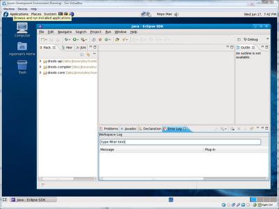 Pre-installed Drools development environment for VirtualBox