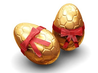 easter eggs chocolate