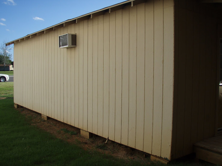 The boring portable building