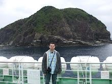 Scott at Ie Island