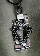 "desideratum Art Jewelry ...  ""The Embrace""  and Other Pendants"