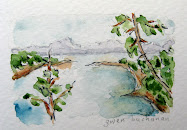The bay of Fundy .. watercolor and why