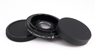 Please Excuse Me While I Clean My Lens: Attaching Canon FD Lenses to