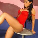 Andrea Rincon, Selena Spice Galeria 1 : Traje Oriental Rojo Foto 150