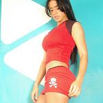 Andrea Rincon, Selena Spice Galeria 2 : Minifalda Roja y Tanga Blanca Foto 2