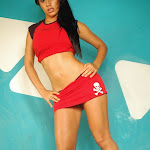 Andrea Rincon, Selena Spice Galeria 2 : Minifalda Roja y Tanga Blanca Foto 23