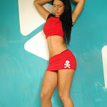 Andrea Rincon, Selena Spice Galeria 2 : Minifalda Roja y Tanga Blanca Foto 27