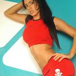 Andrea Rincon, Selena Spice Galeria 2 : Minifalda Roja y Tanga Blanca Foto 29