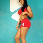 Andrea Rincon, Selena Spice Galeria 2 : Minifalda Roja y Tanga Blanca Foto 33