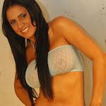Andrea Rincon, Selena Spice Galeria 4 : Pantalon Azul y Top Transparente Foto 21