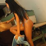 Andrea Rincon, Selena Spice Galeria 4 : Pantalon Azul y Top Transparente Foto 52