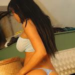 Andrea Rincon, Selena Spice Galeria 4 : Pantalon Azul y Top Transparente Foto 61