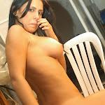 Andrea Rincon, Selena Spice Galeria 4 : Pantalon Azul y Top Transparente Foto 141