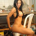 Andrea Rincon, Selena Spice Galeria 4 : Pantalon Azul y Top Transparente Foto 133