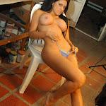 Andrea Rincon, Selena Spice Galeria 4 : Pantalon Azul y Top Transparente Foto 152