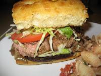 Zoes Kitchen Steak Stack chomp!: zoe's kitchen in plano!