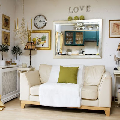 belle maison idea gallery wall decor above the sofa