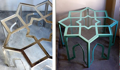 According To This Monthu0027s Issue Of Elle Decor, Casamidyu0027s Boldly Enameled  Metal Tables Are It! I Checked Out Their Website And Fell In Love With So  Many Of ...