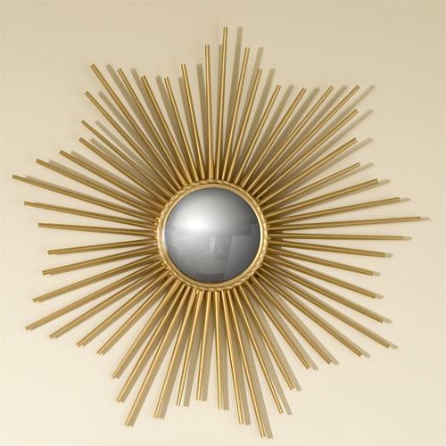 belle maison wall decor bliss sunburst mirrors. Black Bedroom Furniture Sets. Home Design Ideas