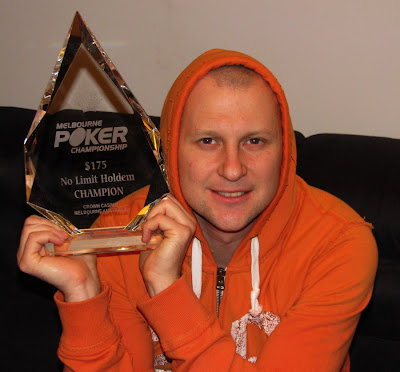 Melbourne Poker Championships, Event 1 Champion