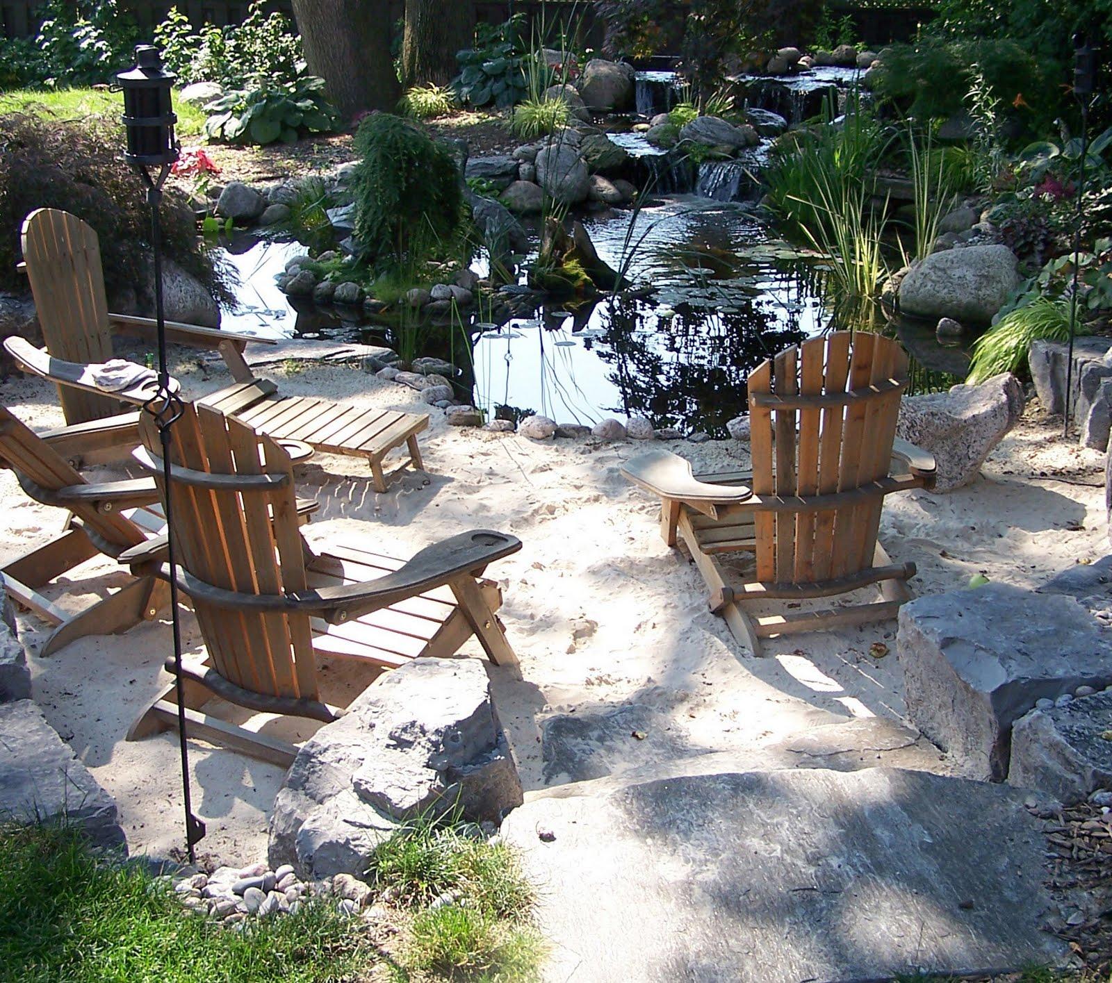 Three Dogs in a Garden: The Jason Garden, Mississauga Ontario