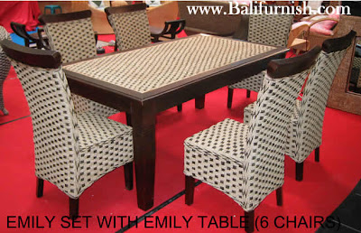Deco Dining Room Furniture on Art Furniture  Woven Water Hyacinth Dining Room Furniture Set From