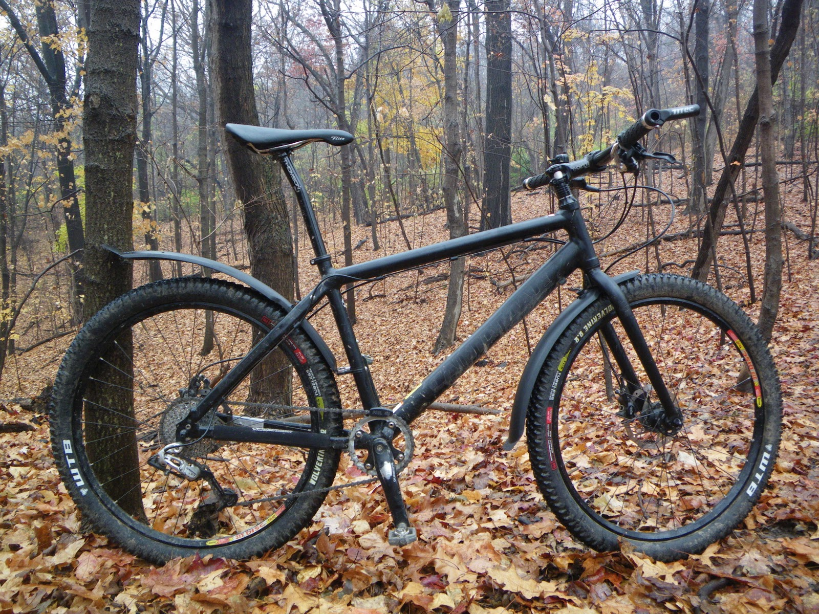 Achterspatbord Mountainbike Homemade Road Bike Fenders Homemade Ftempo