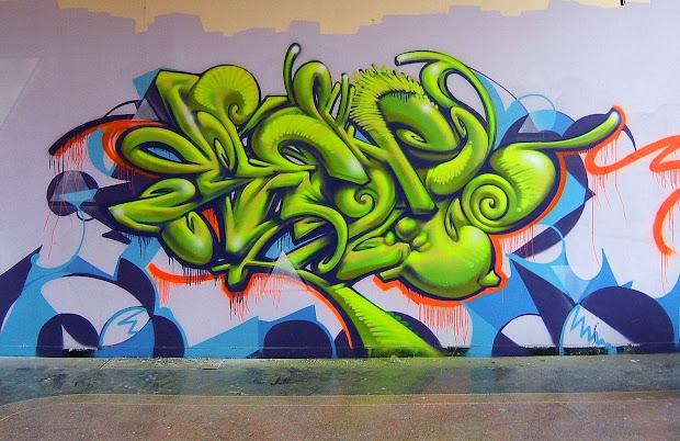 Bubble Graffiti Art