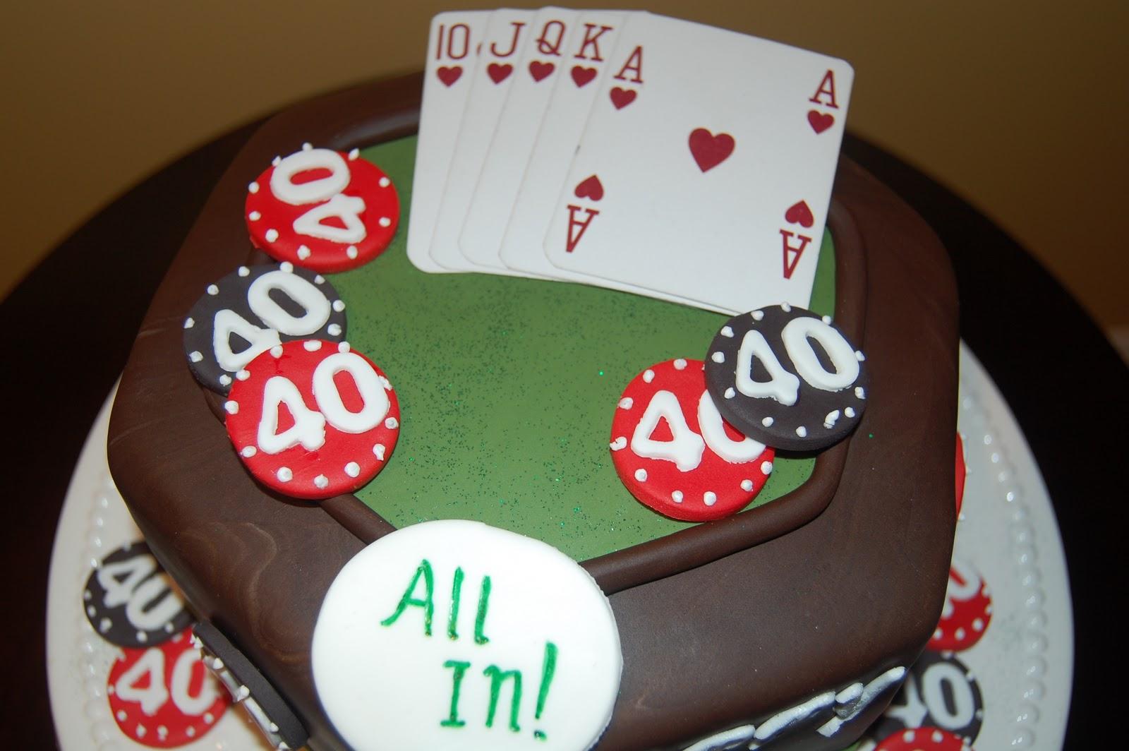Customised Cakes By Jen Poker Cake