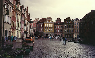 Poznan, a beautiful historical city in Poland
