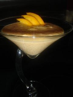 recettes dessert  Tapioca à la mangue