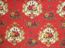 red and gold cotton