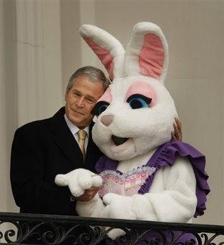 Bush Easter Bunny