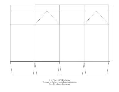 Nice Carton Template Component - Resume Ideas - namanasa - Milk Carton Template