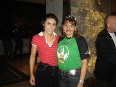 Lucia Arenaza y Jacqueline Barreto