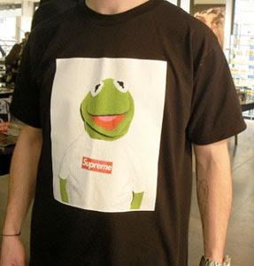 c35c61626b81 Crossover™  Supreme x Kermit Frog tee