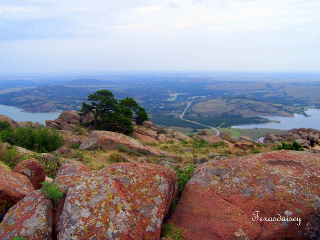 View from Mt Scott near Lawton, Ok