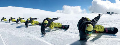 Snowboarding Trick : Eurocarve
