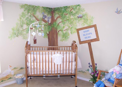 peter rabbit nursery murals. Black Bedroom Furniture Sets. Home Design Ideas