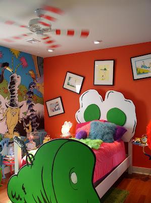 dr seuss inspired nursery murals