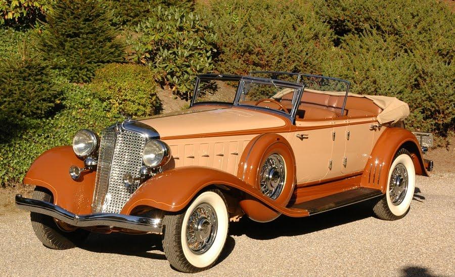 Antique car chrysler