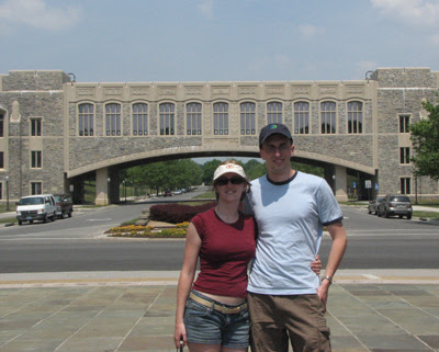 us at Torgersen Bridge