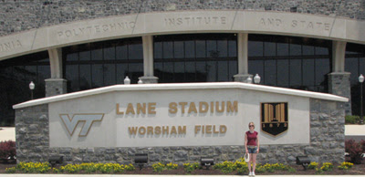 Stadium sign