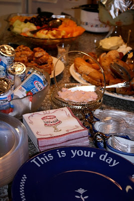 some of the delectable food at the brunch