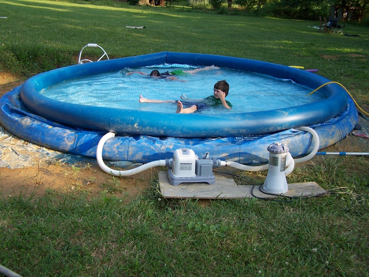 Saltwater System For The Swimming Pool Linda S Lunacy