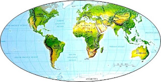 World Map Early Civilizations
