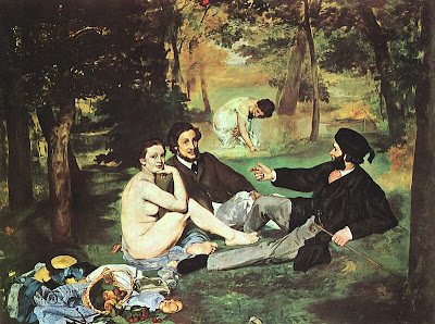 The Luncheon on the Grass, Edouard Mannet
