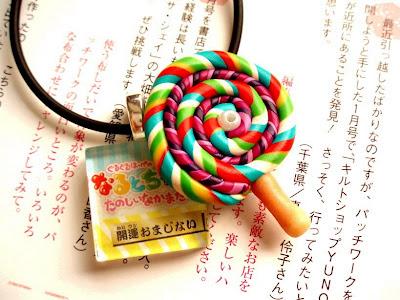 Kawaii Neh Polymer Clay Lolly Lollipop